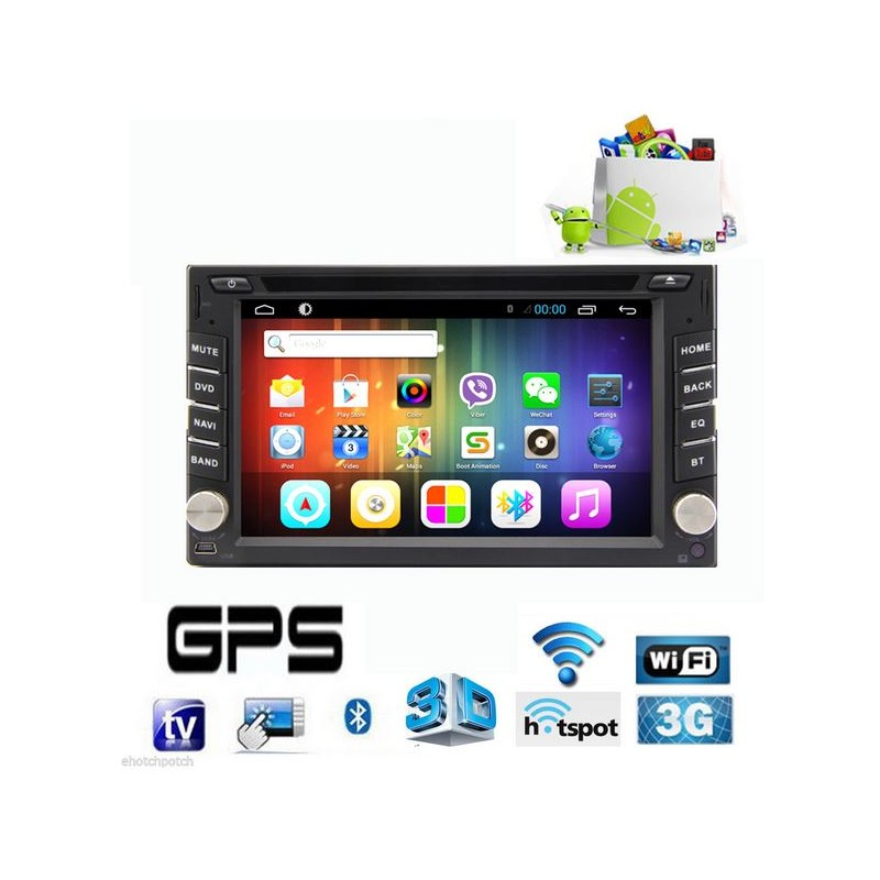 gps double din sp cial camping car android 4 2 tnt wifi gps rds bluetooth. Black Bedroom Furniture Sets. Home Design Ideas