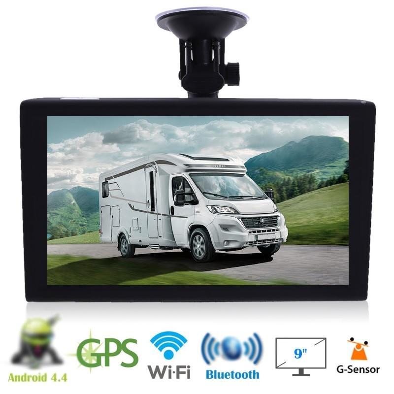 gps camping car caravan camion 9 pouces android dvr 2019. Black Bedroom Furniture Sets. Home Design Ideas