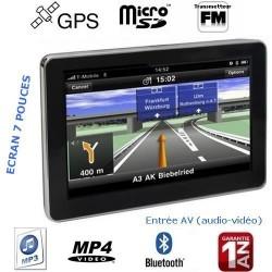 GPS Bluetooth 7 pouces...