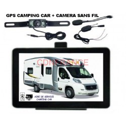 GPS CAMPING CAR + CAMERA DE...